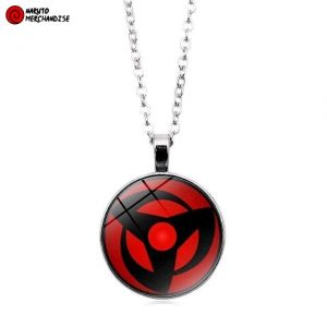 Kakashi mangekyou sharingan necklace