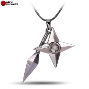 Shuriken necklace