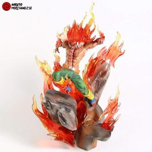 Might Guy statue