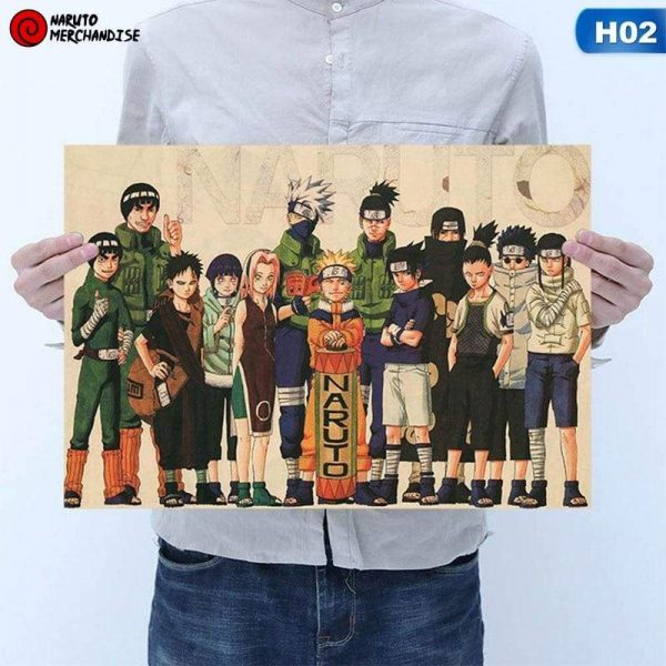 Naruto Poster First Generation